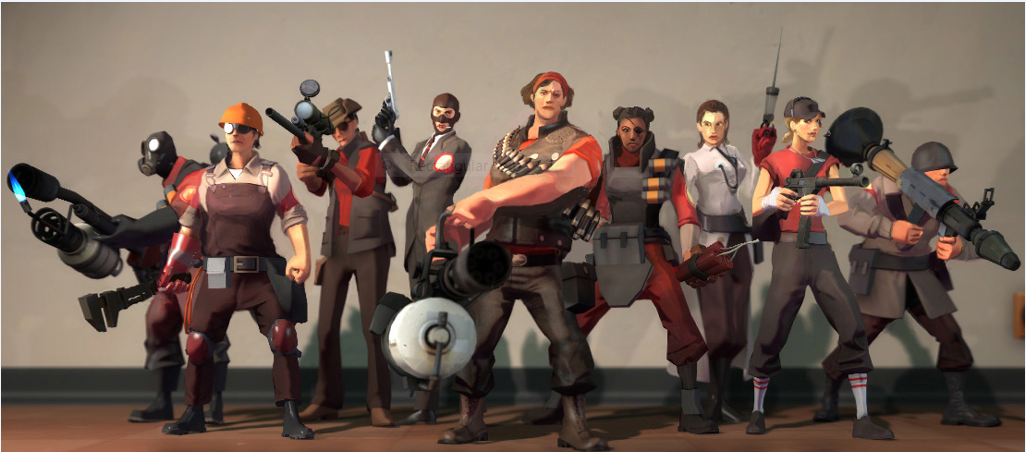 meet the family tf2 sprays